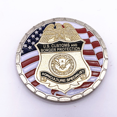 Different Styles Military Challenge Coins / 3D Logo Gold Metal Coins
