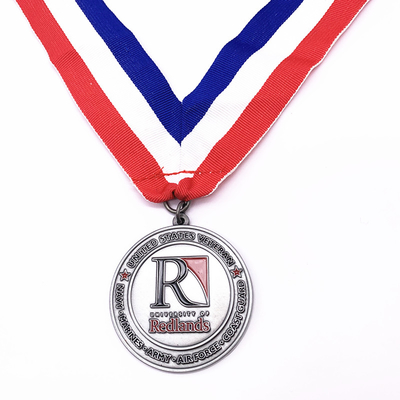 Popular Shape Custom Metal Medals Pantone Colors For Souvenir Gifts